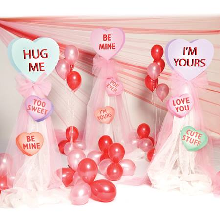 Conversation Hearts Display Stands Kit