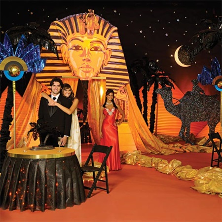 Night on the nile complete theme m n party store for Arabian decoration materials trading
