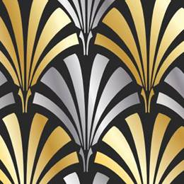 Art Deco Flat Background Paper