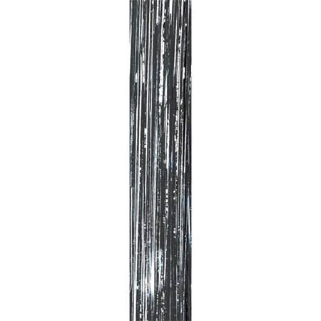 Crinkle Curtain Black