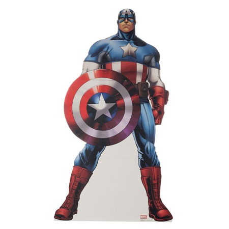 Captain America Stand-Up