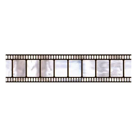 Metallic Filmstrip Scene Setter Border Roll