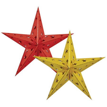 3D Foil Star, 24 inches
