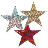 Holographic Stars - 5 in. 12/pkg.