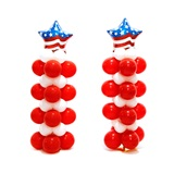 Patriotic Balloon Stands Kit