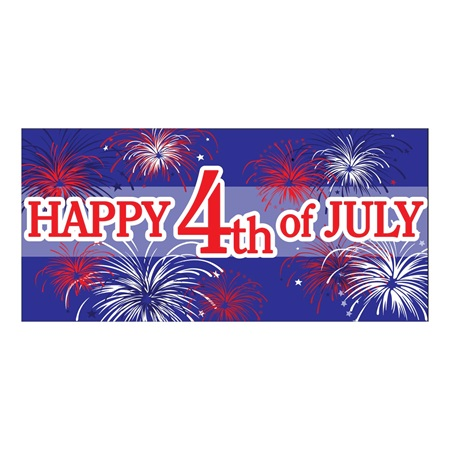 Happy 4th of July Stock Banner
