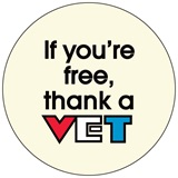 Thank a Vet Button