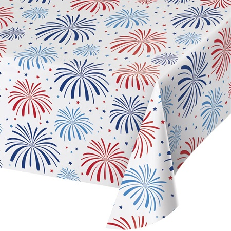 Patriotic Party Table Cover