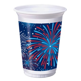 Patriotic Party Plastic Cups