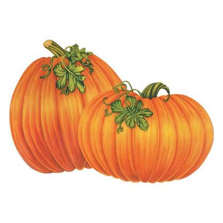 Pumpkins Cut-Outs - 2/pkg