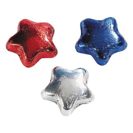 Chocolate Stars - Assorted Colors