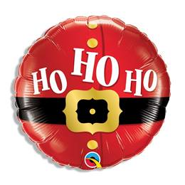 Ho, Ho, Ho Santa's Belt Metallic Balloon