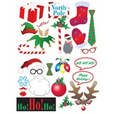 Christmas Photo Props Kit