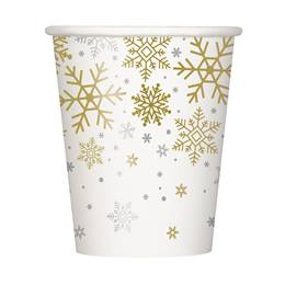 Holiday Snowflakes Hot/Cold Cups