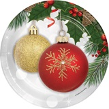 Ornament Elegance Luncheon Plates