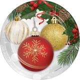 Ornament Elegance Dinner Plates