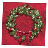 Welcoming Wreath Beverage Napkins
