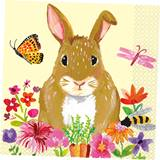 Easter Bunny Luncheon Napkins, 16/pkg