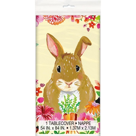 Easter Bunny Table Cover