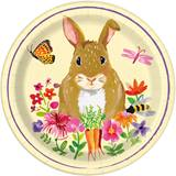 "Easter Bunny 7"" Luncheon Plates, 8/pkg"