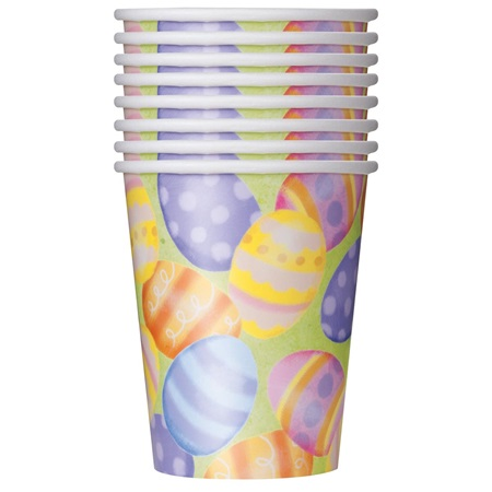 Spring Easter 9 oz. Hot Cold Cups