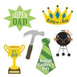 Father's Day Cutouts, 6/pkg