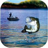 Gone Fishin' Luncheon Plates