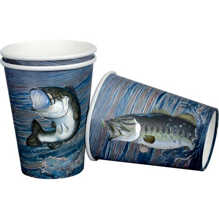 Gone Fishin' Cups