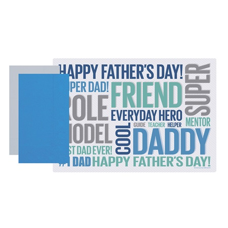 Father's Day Placemat Combo Pack™