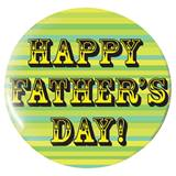 Happy Fathers Day Button - 1 3/4 in.
