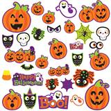 Cute Halloween Character Cut-Out Kit