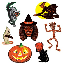 Vintage Classic Halloween Cutouts