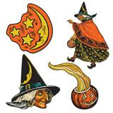 Vintage Witch Cutouts