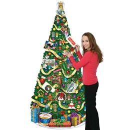 Large Christmas Tree Cutout