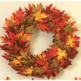 Mixed Maple Leaf Wreath