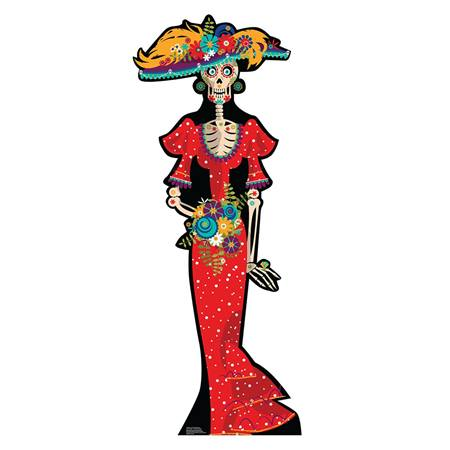 Day of the Dead Woman Stand-Up
