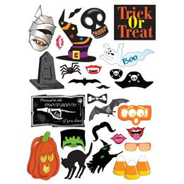 Halloween Photo Props Kit