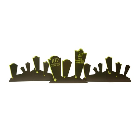 Terrifying Tombstones Kit (set of 3)