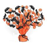 Bat and Pumpkin Gleam N' Burst Centerpiece