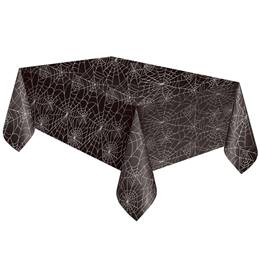 Black Spider Web Table Cover