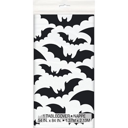 Black Bat Plastic Tablecover