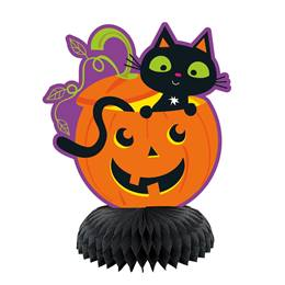 Cat & Pumpkin Mini Centerpieces