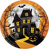 Haunted Hill Dinner Plates