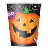 Pumpkin Pals 9 oz Hot/Cold Cups, 8/pkg.