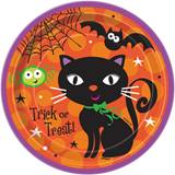 "Spooky Boots 7"" Luncheon Plates"