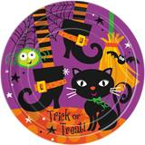 "Spooky Boots 9"" Dinner Plates"