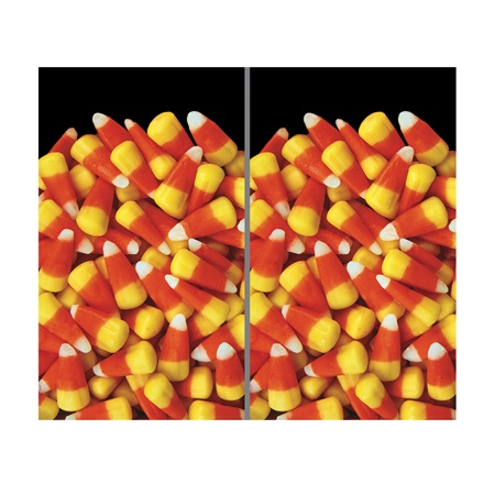 Candy Corn Window Poster