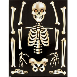 Skeleton Window Clings