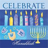 Celebrate Hanukkah Luncheon Napkins