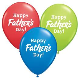 "Happy Father's Day 11"" Latex Balloons"